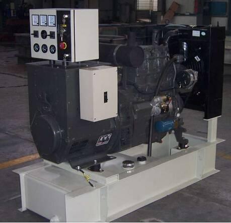 Power Diesel Generator with Deutz Diesel Engine Stamford Alternator Output 270kW