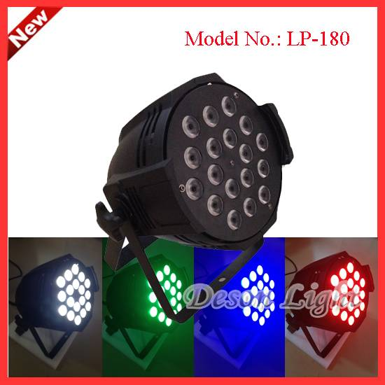high power 18X10w RGBW 4 in 1 , 5in1 , 6in1  RGBWA + UV LED par can light  LP-180