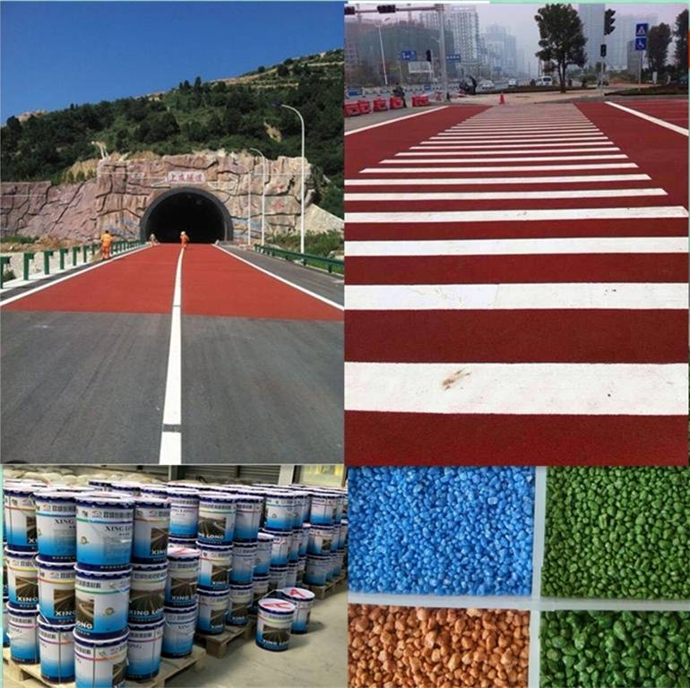 colorful anti-skid road marking paint