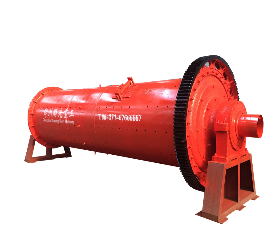 Good quality industrial horizontal gold mining ball mill