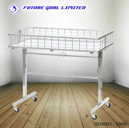 Wire Storage Garment Display Rack / Shop Shelf