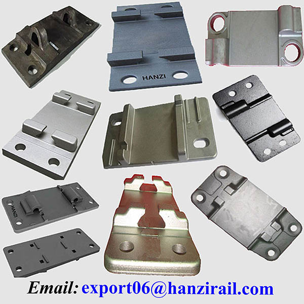 Railroad Steel Rail Baseplates