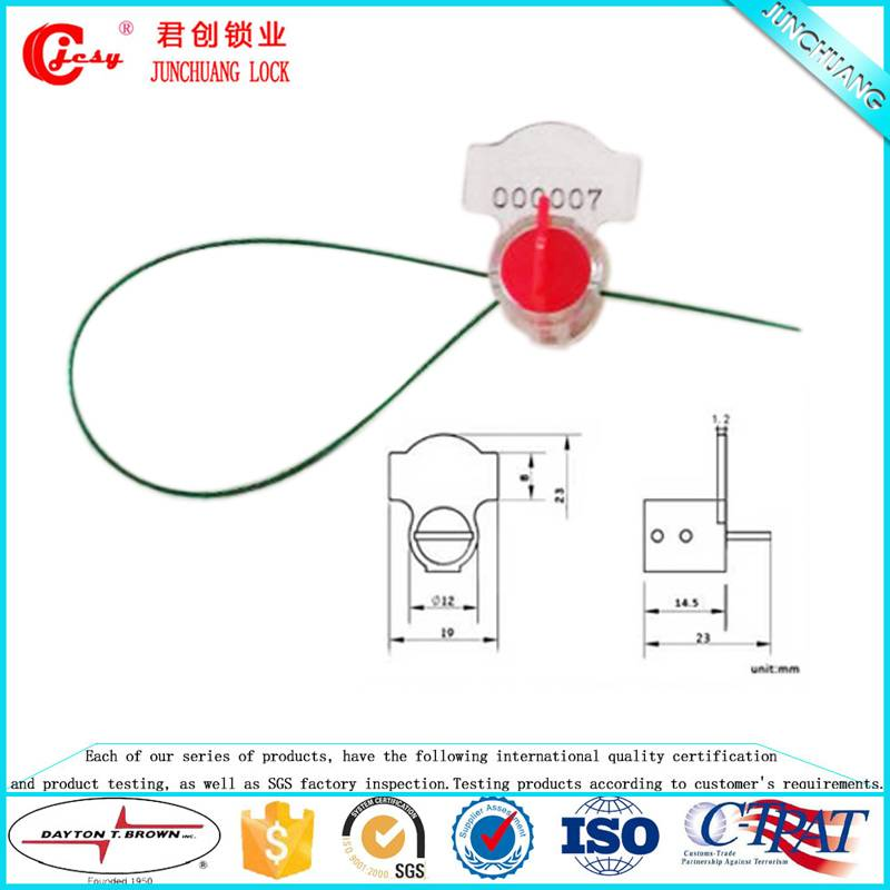 China supplier plastic meter seal
