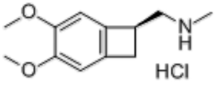 (1S)-4,5-Dimethoxy-1-[(methylamino)methyl]benzocyclobutane hydrochloride