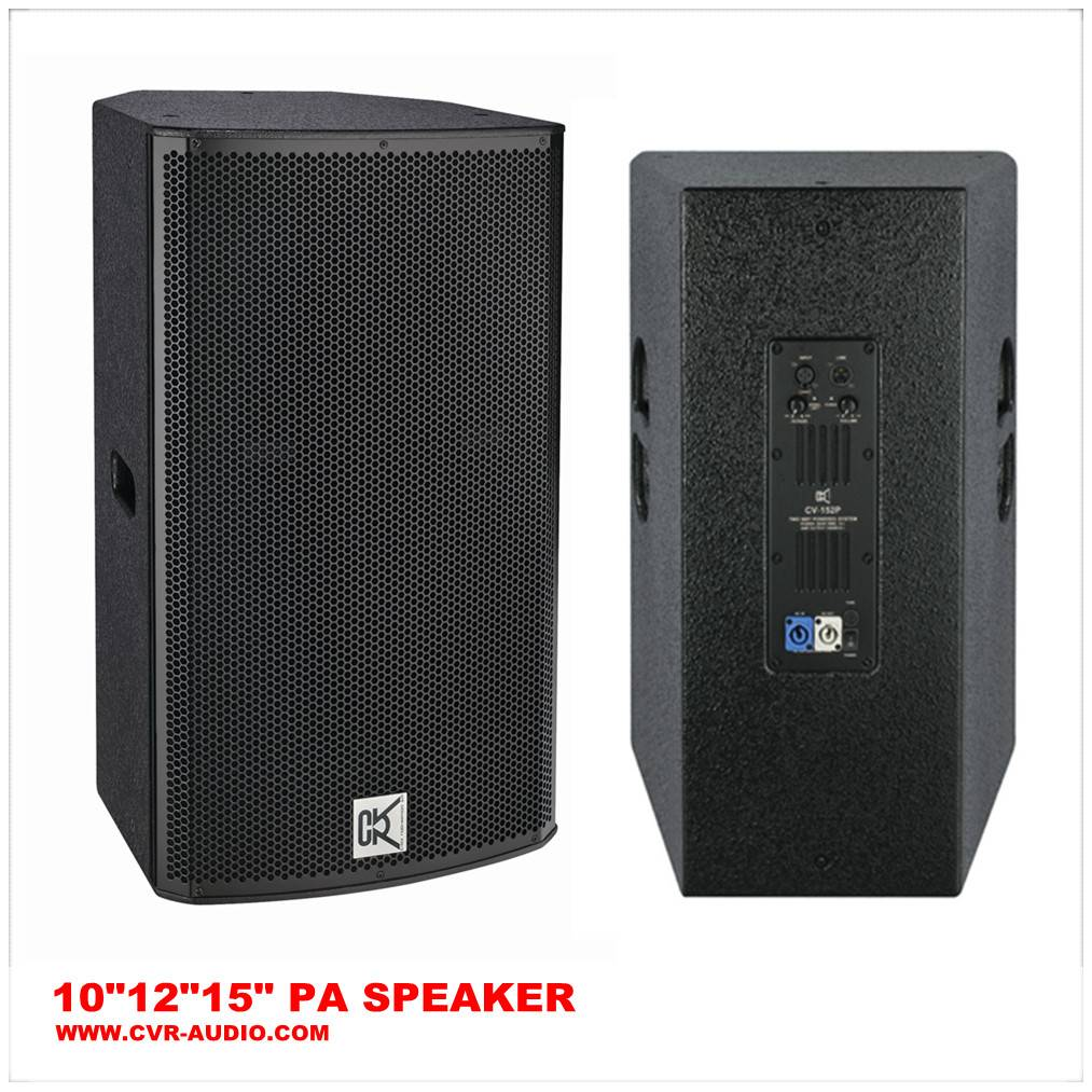 Professional sound system + active Pa speakers