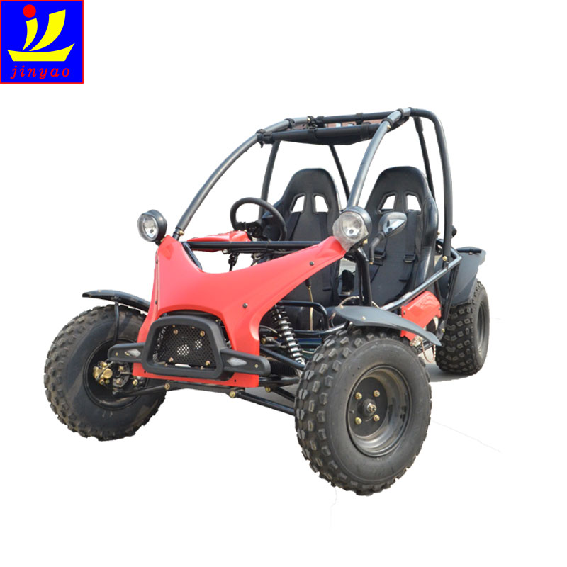 Outdoor adult ride on ATV amusement go karts with high power