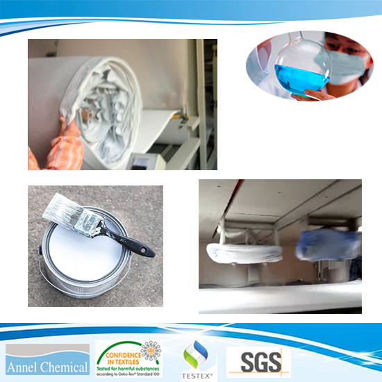 Water-based adhesive glue for foam coating in bra cup materials