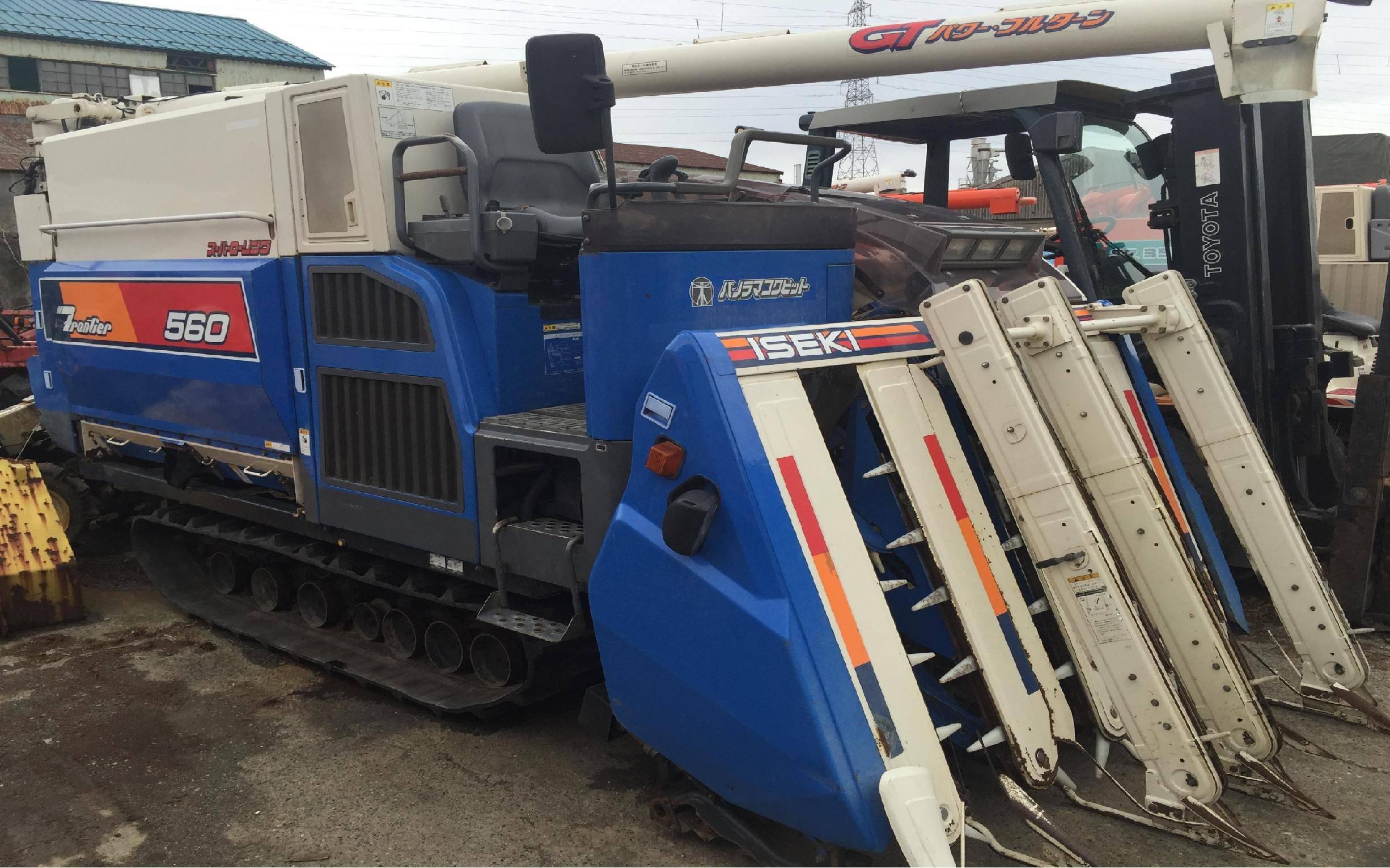 Used combine harvester Iseki Frontier GT 560