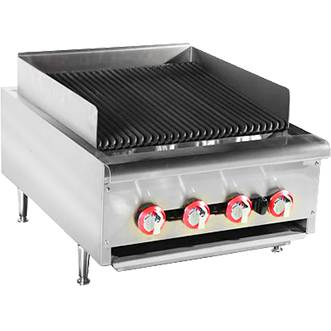 Counter Gas Burner Broiler