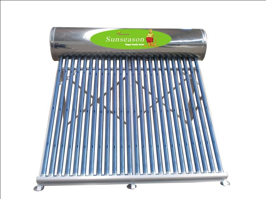 250l Stainless steel Non-pressure solar water heater YJ-24SS1.8-H58