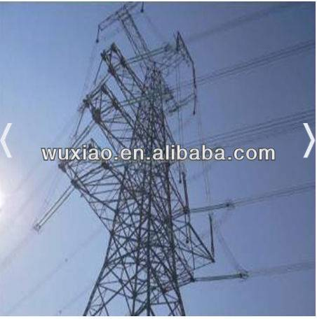 Transmission lattice tower