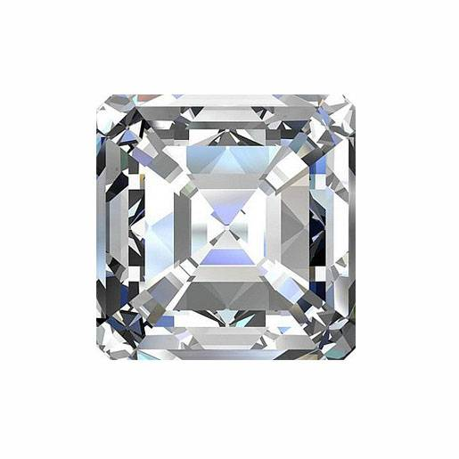 3A Clear White CZ CHAMFER SQUARE (8mm) Loose Cubic Zirconia Stone Lot Size
