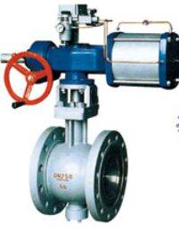 V-regulating ball valve
