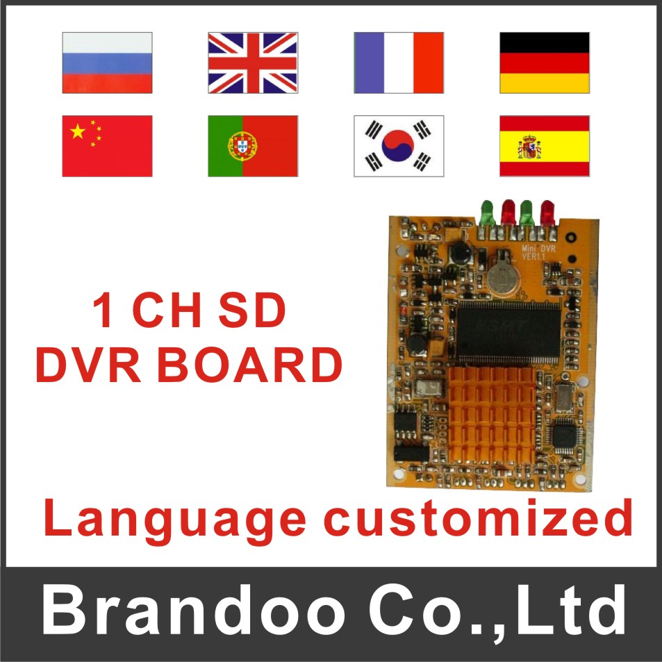 1 channel DVR SD DVR module
