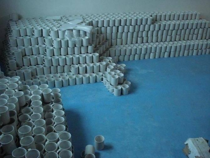 11 oz sublimation coated white/plain mug