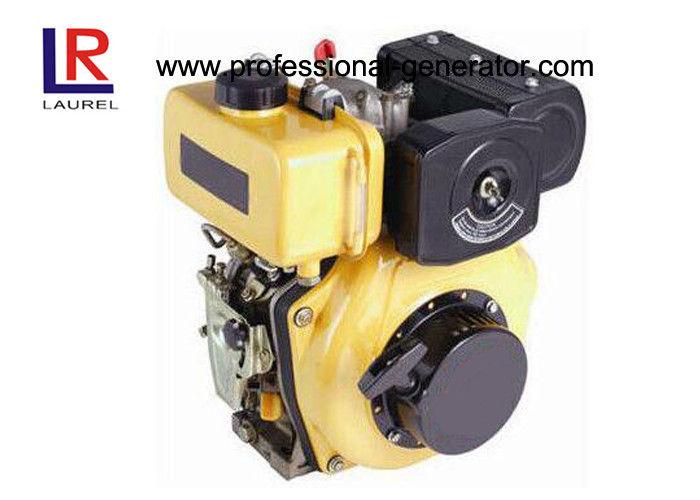 Direct injection Industrial Diesel Engines , Air Cooled Diesel Engines 4 Hp Crankshaft / Camshaft