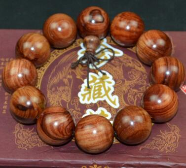 Purple Willow wooden bead big diy seed bead bracelet