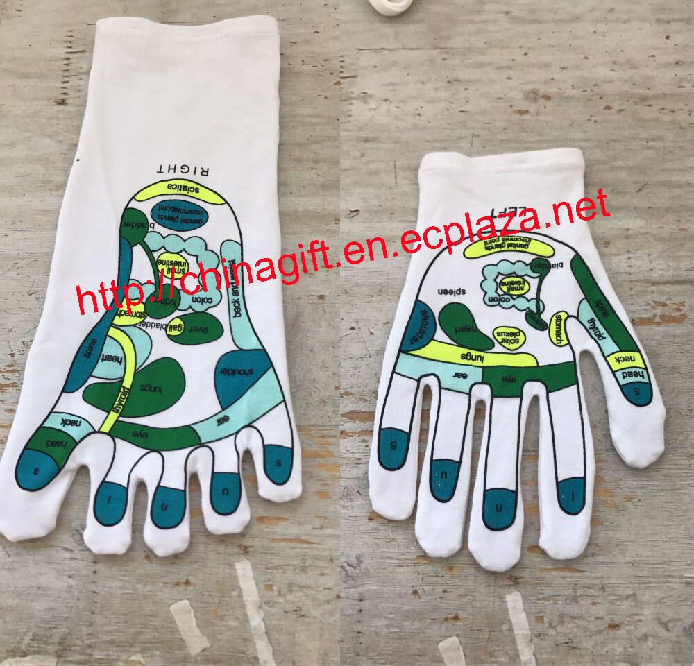 reflexology socks & gloves