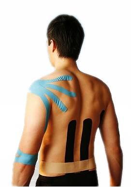 muscle kinesio tape