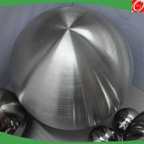 christmas decorations brush matt finish stainless steel ball