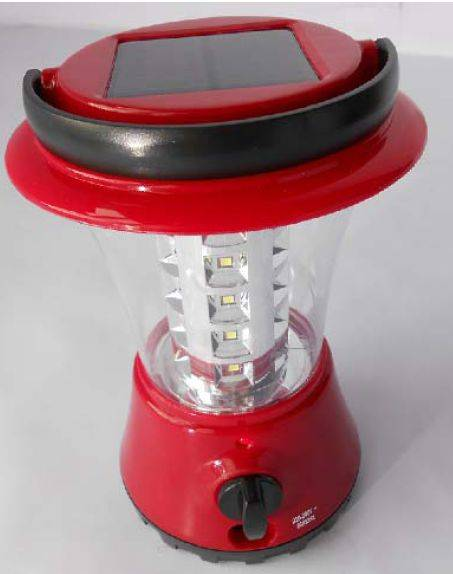 Solar lantern with 36pcs super brightness LED, 3.6W and 300Lumens max