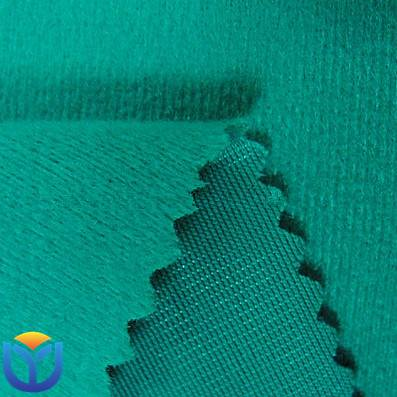 100% polyester warp knitted tricot brush fabric for sportswear