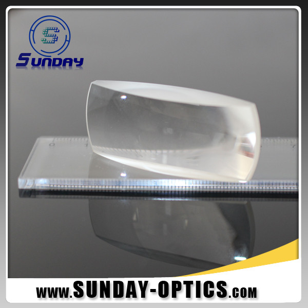 Bi Convex Cylindrical Lens Optical Glass