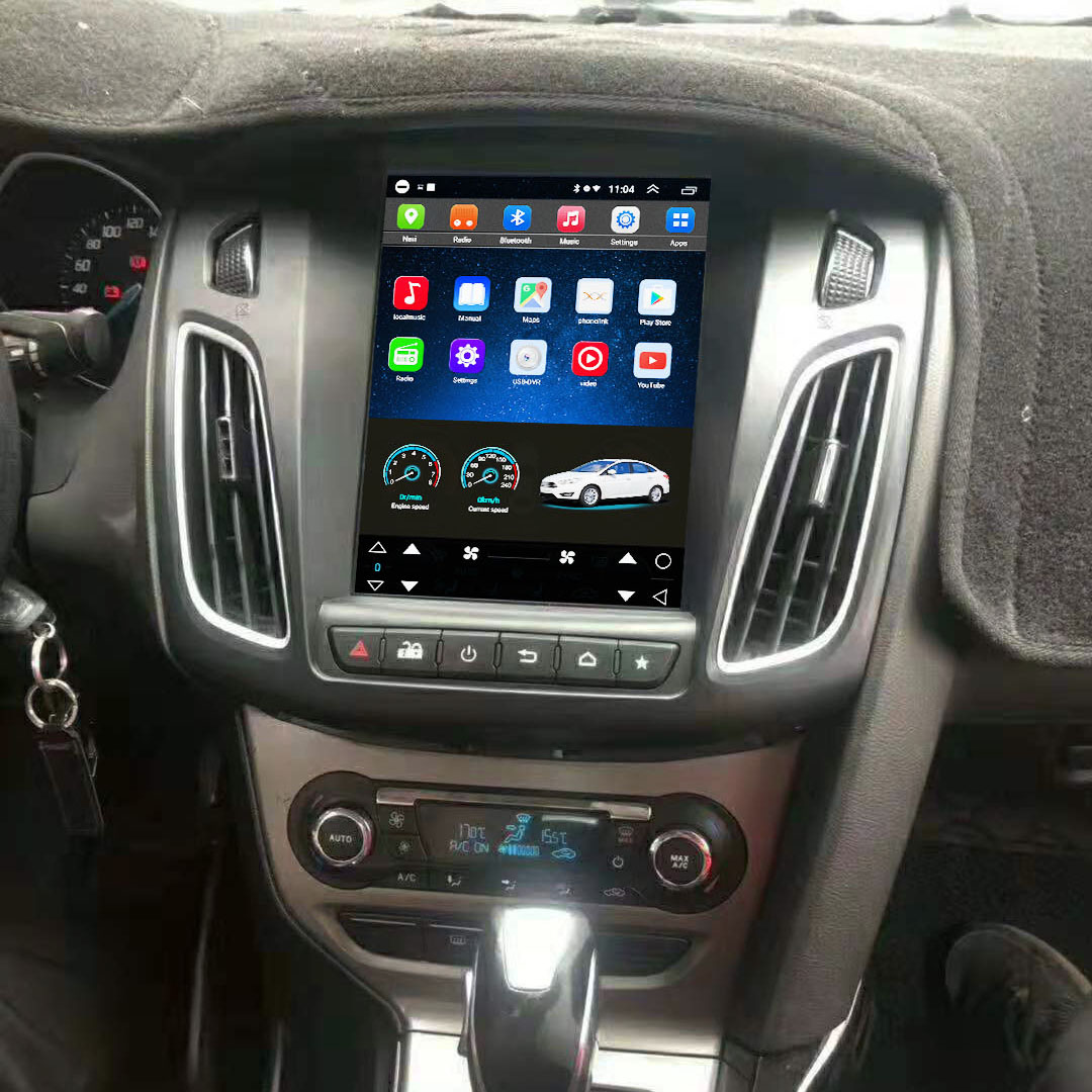 Vertical Screen 10.4 Inch Android Car Multimedia Navigation For Ford Focus 2012-2016