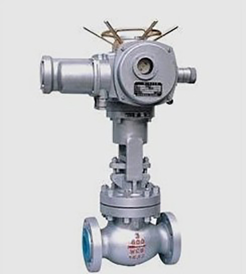 Industry Cast Steel Electric Actuator Motorized Operated Carbon Steel Globe Valves
