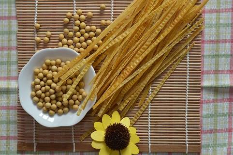 organic noodle/bean product