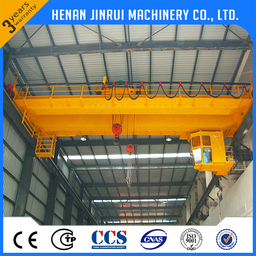 Construction Hoist 50Ton Double Girder Bridge Crane Lift Machine