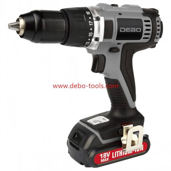 18V Li-ion Cordless Hammer Drill Professional