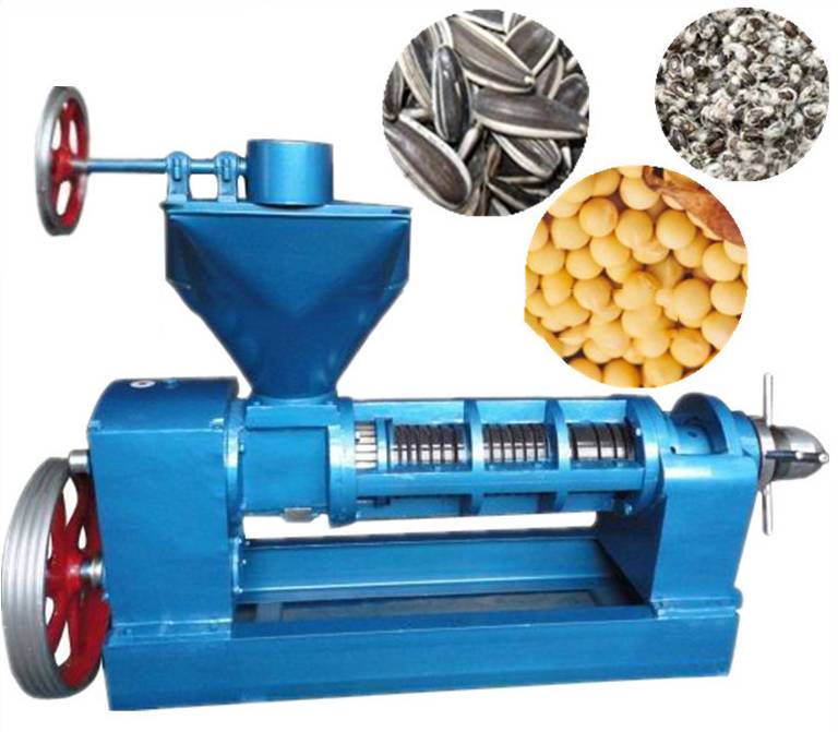 hot press oil press machine to press soybean peanut rapeseed