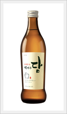 Korean Alcoholic Beverage 'Bekseju Dry' (Rice Wine)