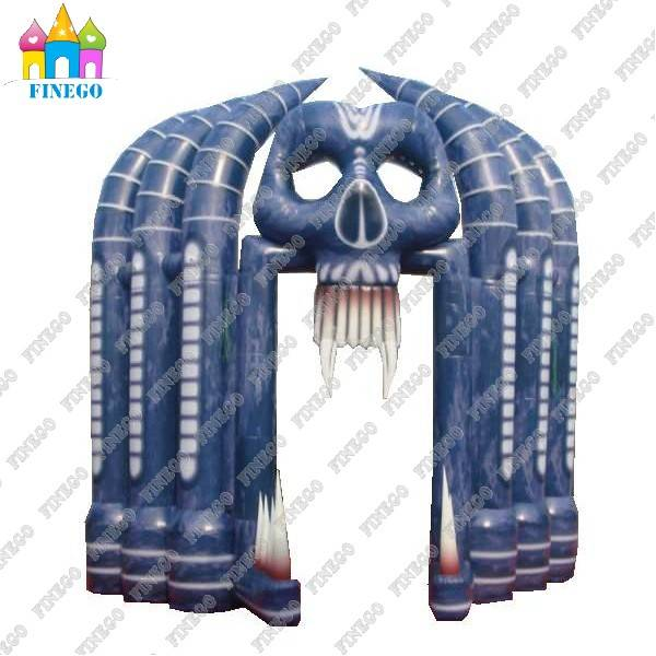 High Quality Horrific Inflatable Archway for Holloween Party