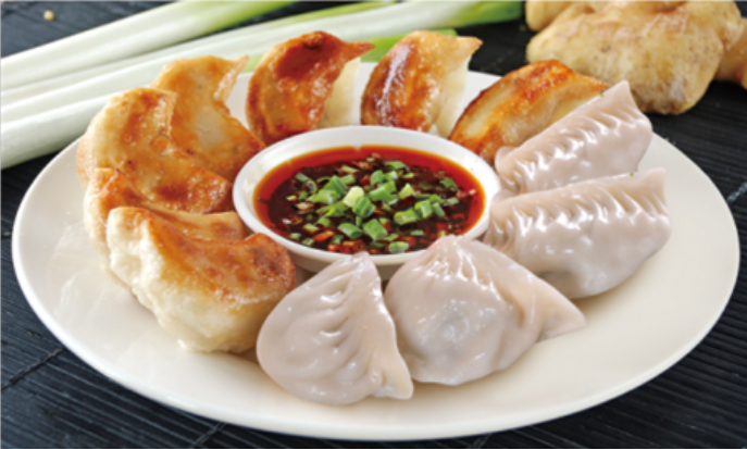 Xiaolian Factory Traditional Chinese Food Steamed Fried Dumplings Vegetable Dumpling Chinese Snack F