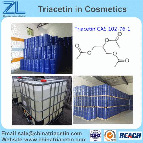 Triacetin as plasticizer CAS 102-76-1