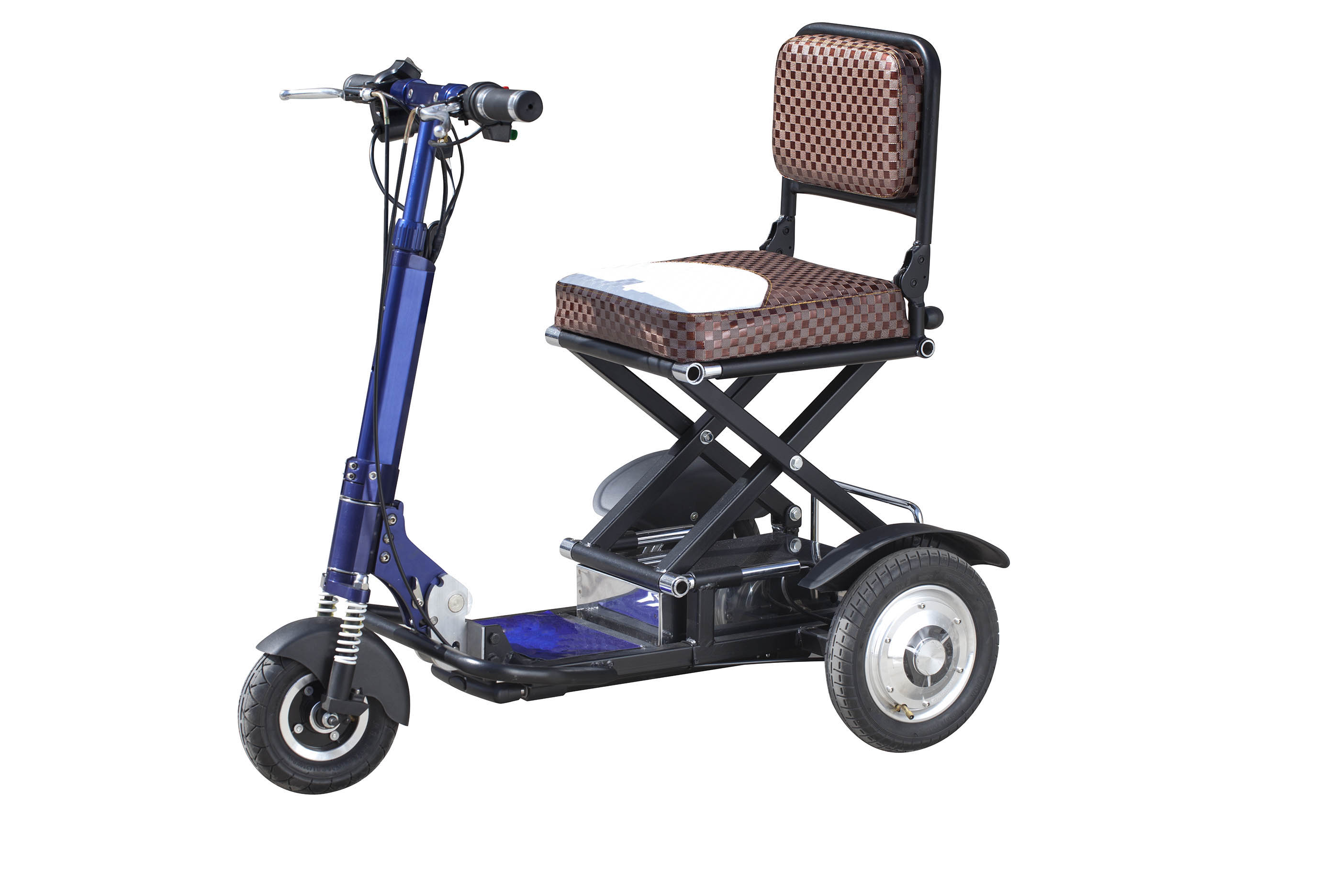 China cheap folding 3 wheel electric tricycle with lithium batter(MS-013)
