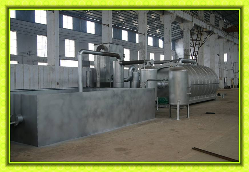 BEST quality waste oil recycling machine