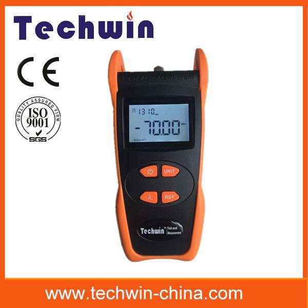 Techwin optical power meter series testing optical fiber network