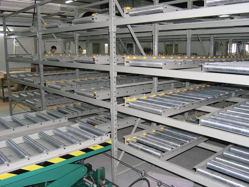 Conveyor On Racking for Warehouse