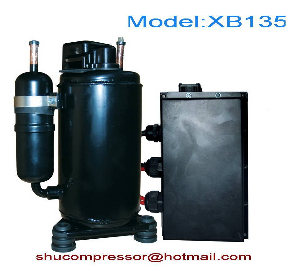 DC 12V Compressor for truck mining machine cab