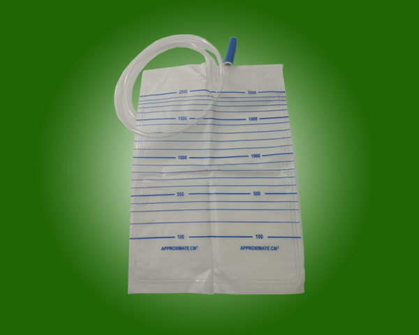 Hospital Use Kinds Of Medical Grade PVC Drainage Urine Bags Without outlet Valve with CE and ISO