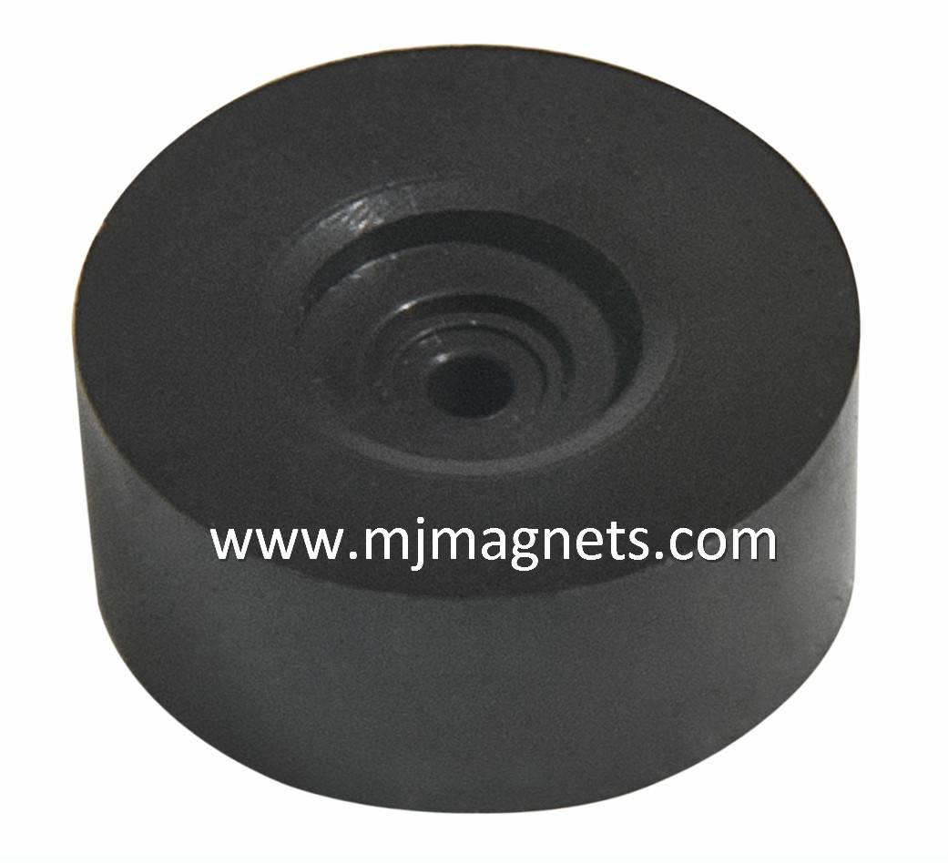 plastic injection bonded sensor magnet for actuator