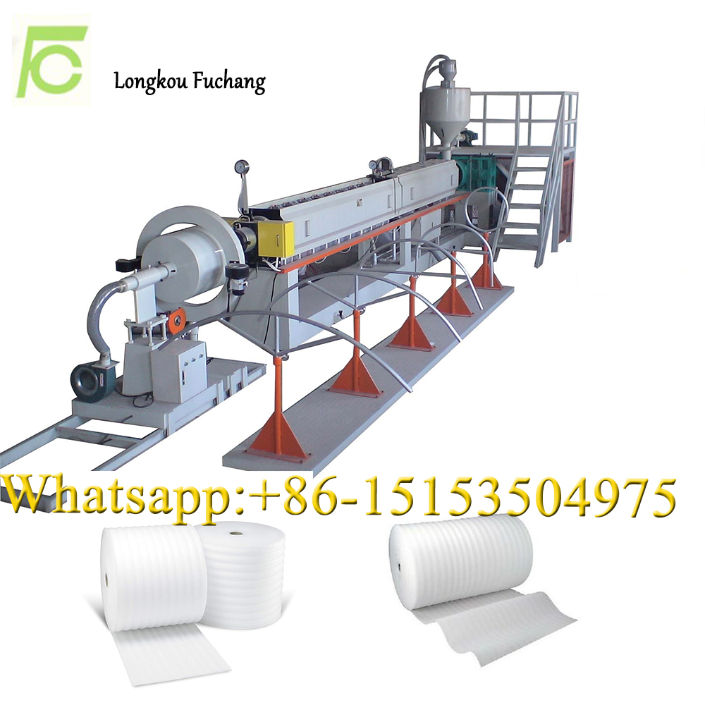 EPE foam sheet extrusion machine