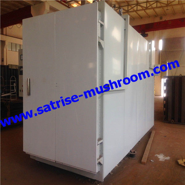 industrial Cubic mushroom steam autoclave for production line