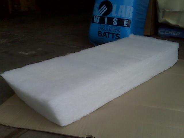 Polyester batts