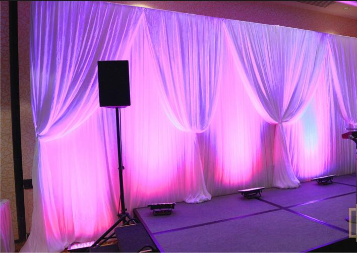 RK event pipe and drape kits 3-26ft stage bacdkrop design