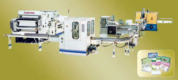 Box-Packing Facial Tissue Production Line -HZ-200(210)