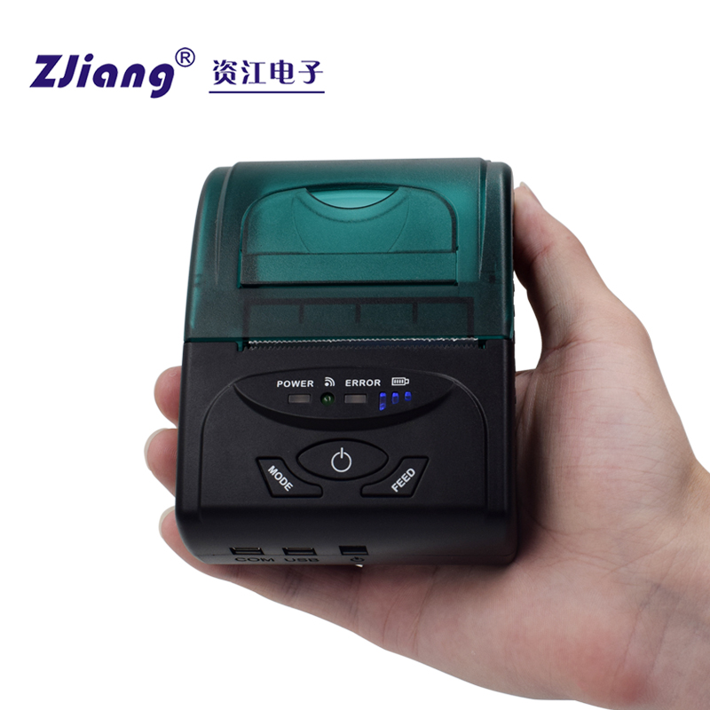 POS China Supplier Hand Held POS Bluetooth Printer Portable with POS Printer Driver ZJ-5807